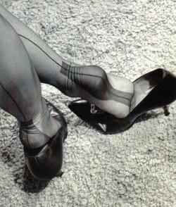 Sexy heel stocking