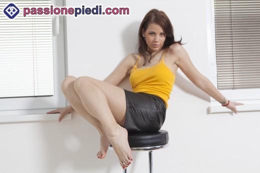 Chi non vorrebbe leccare un piede così?