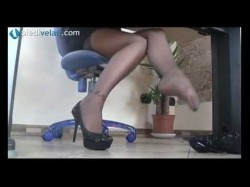 VIdeo sexy Nylon Feet