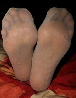 Foto Amatoriale Nylon Feet