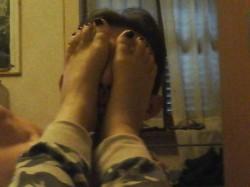 Foot Worship piedi in faccia